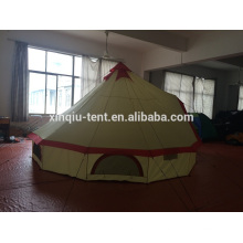 Big outdoor camping family tent
