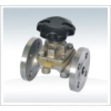 Фланцевый мембранный клапан DN100 Pn16