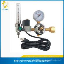 Regulador de CO2 aquecido com temporizador