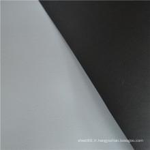 Feuille de caoutchouc ESD grise et noire en rouleaux