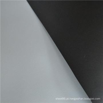 Folha de borracha ESD cinza e preto em rolos