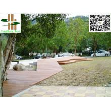 CE certificate wpc outdoor decking floor wholesale price