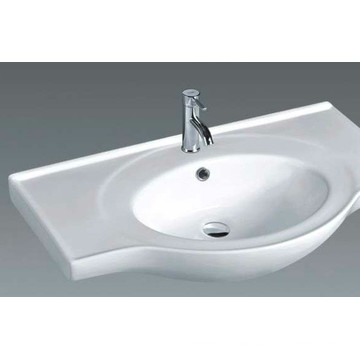 B840 High Quality Bathroom Ceramic Cabinet Top Basin
