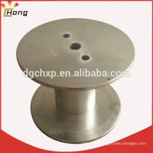Steel cable drum for wire