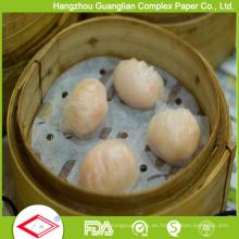 Papel humeante tratado con silicona de 5,5 pulgadas con orificios