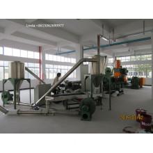 CaCO3 high filled master-batch granulator production line