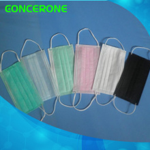 Disposable Nonwoven 3ply Face Mask with Earloop for Medical/Hospital