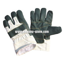 Full Palm Furniture Leather Winter Work Guante-4018