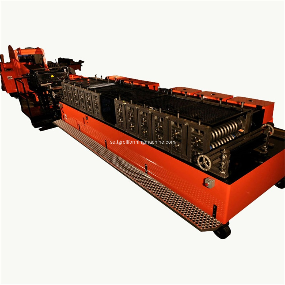Förpackad Culvert Pipe Corrugated Panel Machine