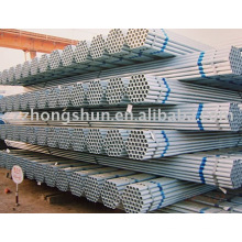 hot galvanized erw steel pipe BS1387/ASTM A53 GrB/Q235/SS400