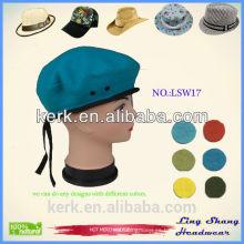 Sombreros al por mayor de las mujeres de encargo del sombrero del precio barato del diseño de la manera, LSW17