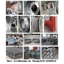 Peças brancas do cilindro de liga Kmtbcr26 do ferro do cromo alto do OEM