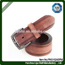 Clsssic Design en cuir véritable Ceinture personnalisée Frange Style et pour jeans Chaussures de golf / cintos de cuir pour hommes