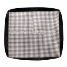 Microwave oven grill mesh basket