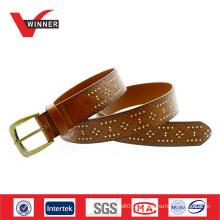 Vintage Men Pin Buckle Belt