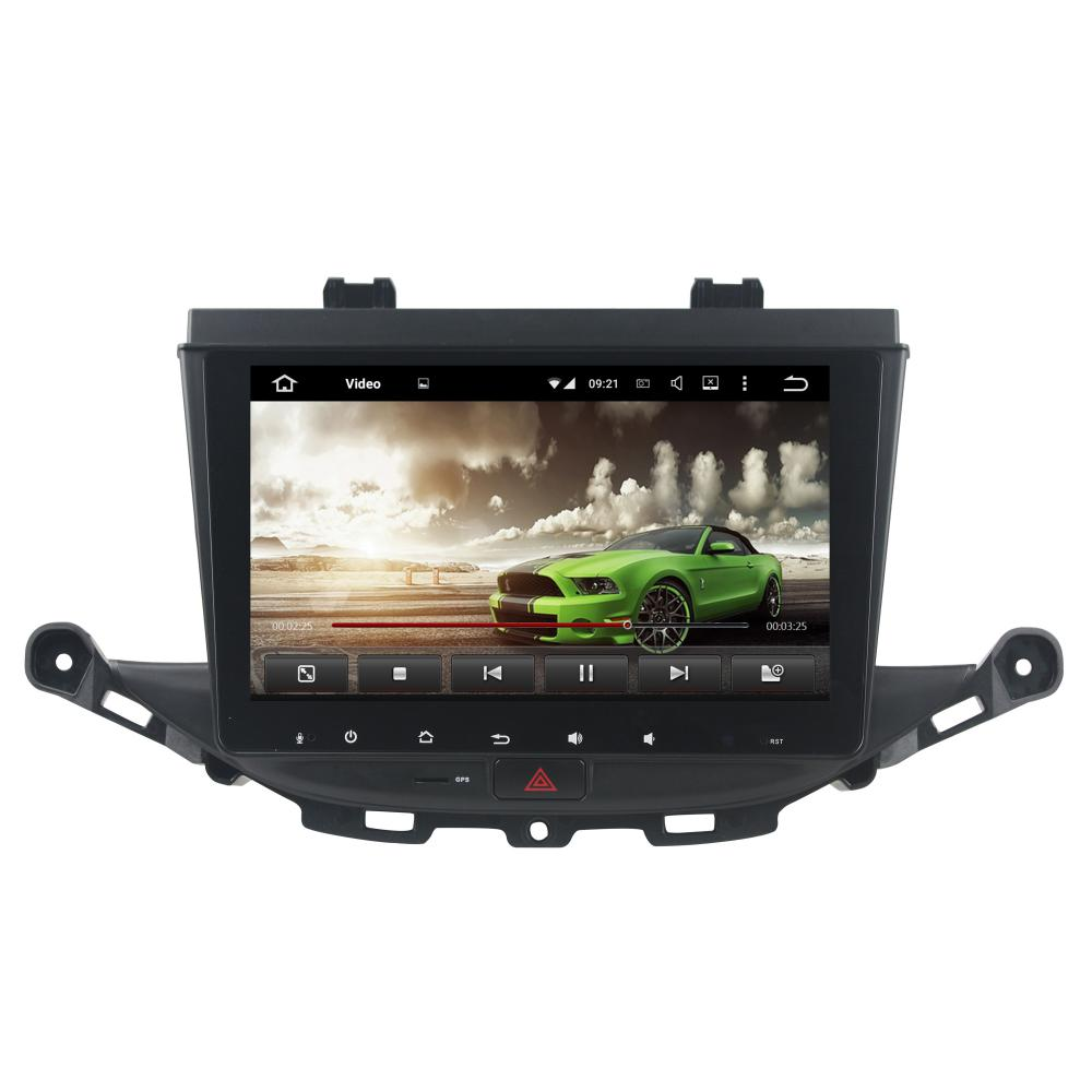 9 inch deckless car DVD player for Opel Astra K