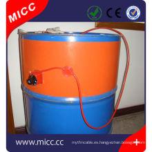 Calentador de tambor de silicona 200L con termostato