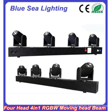 4pcs x 10W RGBW 4in1 led pixel beam moving bar light