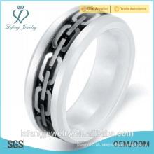 China fabricante de jóias de cerâmica, anel de cerâmica, anel de cerâmica, presente de ano novo, presente de Natal