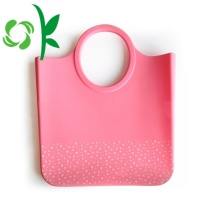 New Tote Bag Square Silicone Bag for Shopping