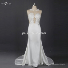 RSW792 Sexy See Through Corset Lace Bodice Wedding Anniversary Dresses Presentes