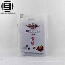 Durable die cut plastic packaging bags for suits