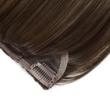 Human Hair Virgin Hair Remy Hair 4# 6# Color 18inch Clip in Hair Extension