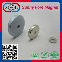 Неодимовый магнит постоянного с отверстие Китай Заводская цена