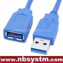 USB 3.0 Um macho para um cabo fêmea