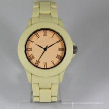 Mejor ginebra vantage japan movt hombres logotipo personalizado reloj