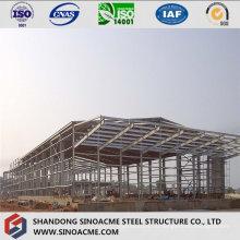 Стальная конструкция для структуры промышленного предприятия