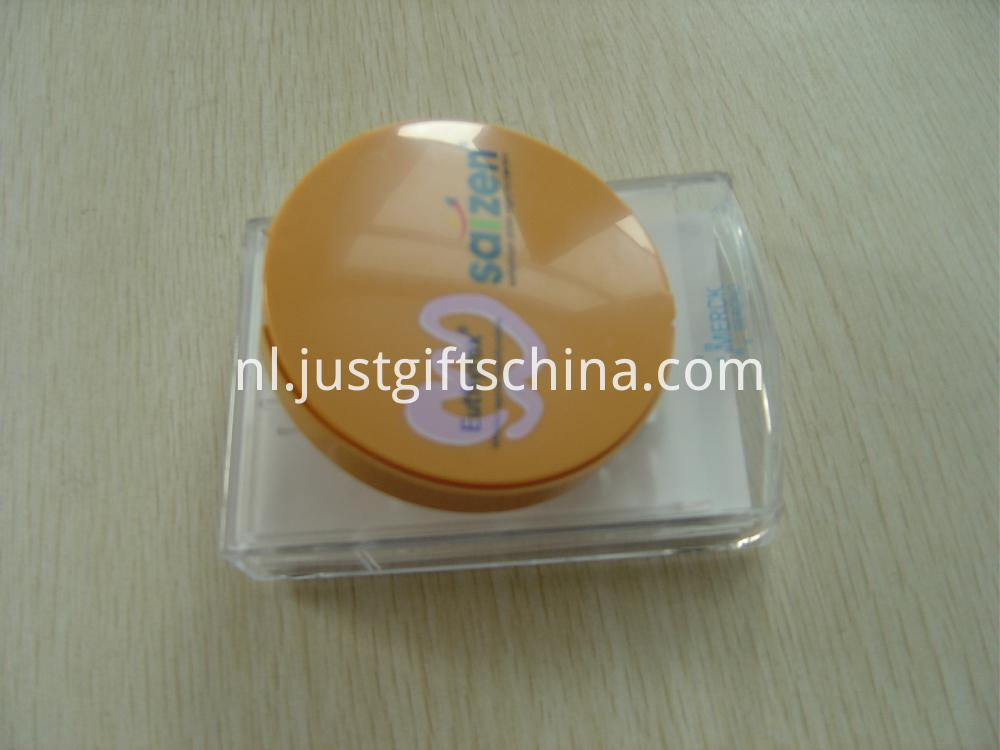 Round Shaped Plastic Notes Box