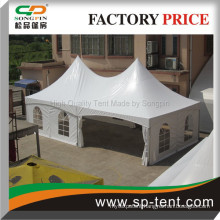 5x10m hajj marquee tent popular in Middle East countries with opaque roof (aluminum poles has no channels )