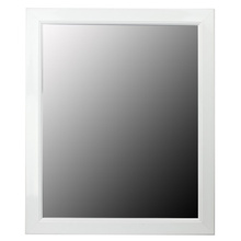 White Black Ps Mirror Frame Various Size