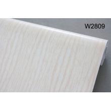 PVC película de plástico de grano de madera para muebles de protección