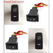 2015 Dual LED Light Push Switch for Nissian Car Push Button Switch