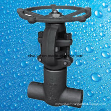 API602 1500lb 2500lb Joint de pression Forge Steel Thread Gate Valve