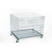 Steel Products Supermarket Wire Mesh Pallet Container Store Cage