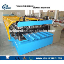 Automatic Corrugated Roof Sheet Roll Forming Machines / Cold Color Steel Roll Forming Machine For Africa