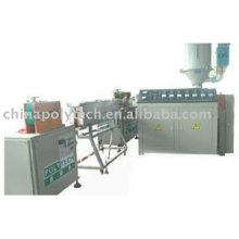 Plastic coating pipe extrusion line