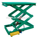 Electric hydraulic warehouse lifter machine