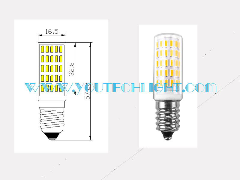 led e14 bulb drawings