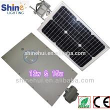 Precio de fábrica precio ligero de la calle 15W solar
