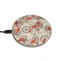 OEM Universal Round Magnetic Quick 5w Wireless Charging Mat Receiver Fast Qi Phone Wireless Charger