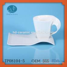 Espresso cup and saucer for hotel,china supplier cup and saucer,coffee cup and plate,porcelain cup and saucer