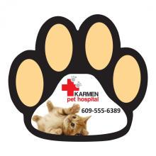 Kundenspezifischer Hundetatzen-Magnet-Auto-Aufkleber
