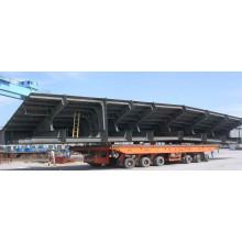 50-900t Trolley móvel hidráulico do pneu