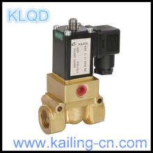 Válvula solenoide de 4 vías válvula de solenoide 220v / China / válvula de solenoide de latón de la serie 4/2 KL0311