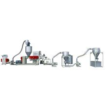 Машина для гранулирования пленочных отходов Sj-120