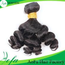 Guangzhou Suppliers Black Virgin Human Malaysian Hair